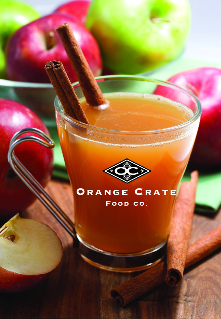 Mulled Cider - Three flavours to choose from. www.orange-crate.com