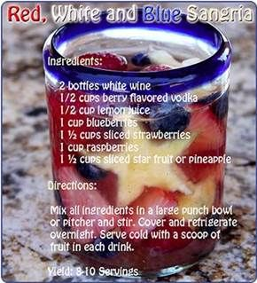 4th of july sangria recipe