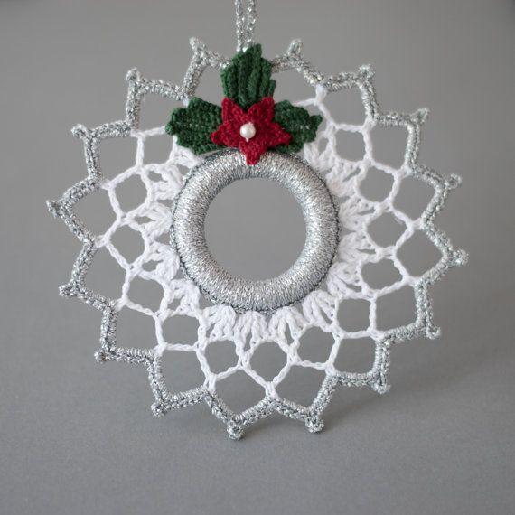best 25 crochet christmas ornaments ideas on pinterest. Black Bedroom Furniture Sets. Home Design Ideas