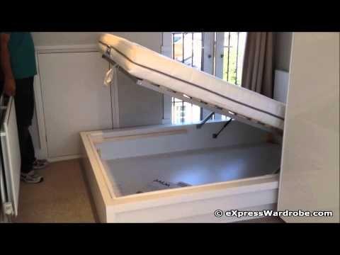 Build A Platform Bed With Storage Short Version