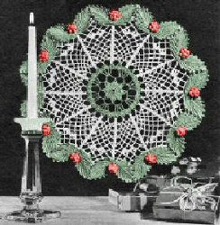 Christmas Crochet Doily: Christmas Crochet, Doilies Free, Crochet Projects, Free Crochet, Crochet Christmas, Christmas Doilies, Free Patterns, Crochet Patterns, Crochet Doilies