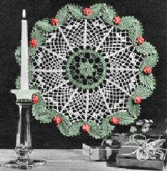 Christmas Crochet Doily