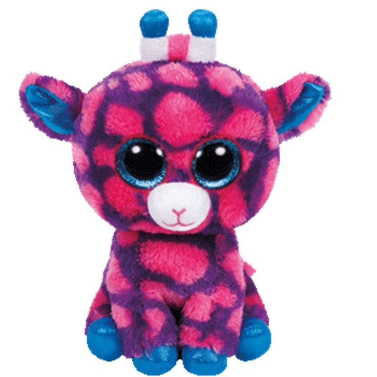 Ty Beanie Boo s LARGE SKY HIGH the Pink Giraffe Soft Toy Plush NWMT