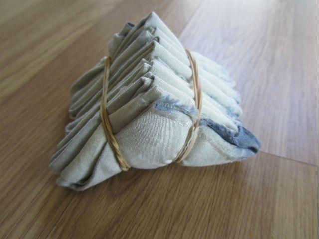 Japanese Technique Of Itajime Folding Resist Binding