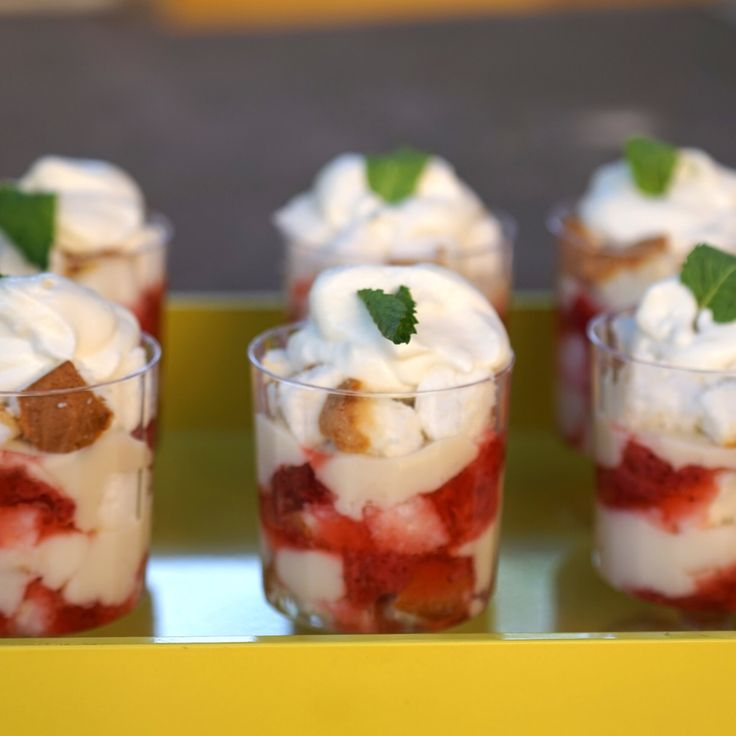 Strawberry Trifle By Patricia Heaton
