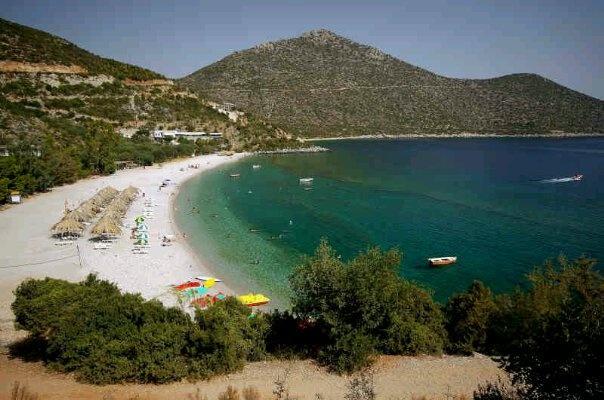 Tyros, Greece, Beach, Summer