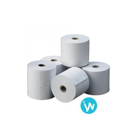 Trouvez ici les rouleaux adaptés à vos imprimantes portables, cette bobine de papier thermique 80X40 est certifiée par EPSON