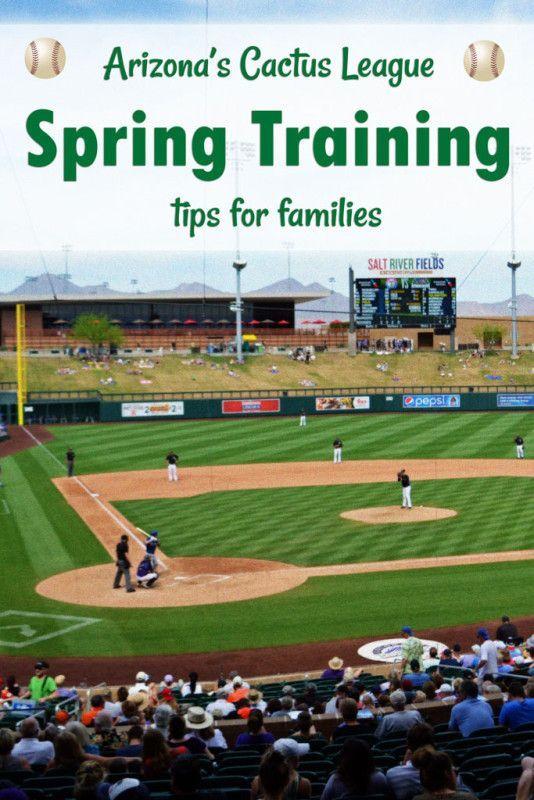 Arizona's Cactus League - Spring Training tips for families | tipsforfamilytrips.com