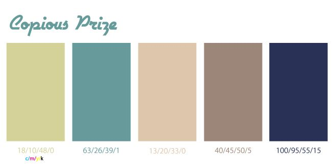 Navy Light Green Brown Tan Teal Color Palette I Think