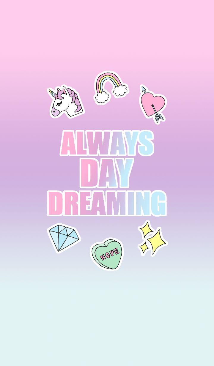 This is a emoji motif Theme!(unicorn,rainbow,heart,diamond,twinkle)