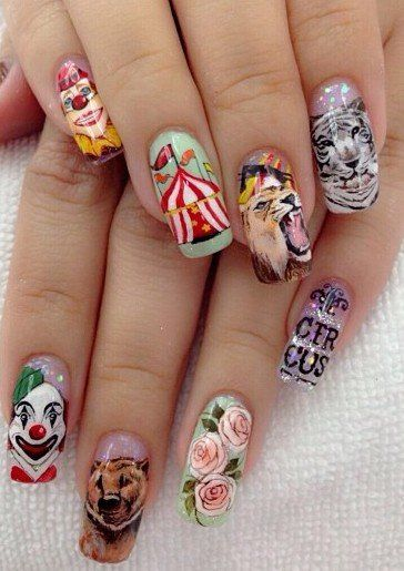 oh wow! Ongles du Cirque!