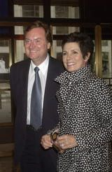 Maureen Orth and Tim Russert Marriage Profile: Tim Russert and Maureen Orth in New York City on May 3, 2004.