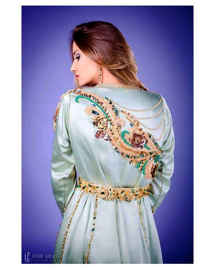 """72 mentions J'aime, 2 commentaires - haut couture marocain (@salima_asbai) sur Instagram: """"..♡"""""""