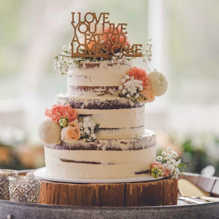 609 Best Images About Wedding Cakes & Desserts On Pinterest