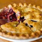 """this is my """"go to"""" cherry pie recipe.  I typically thaw frozen cherries to cut the work down, but no matter which, it is DELICIOUS and just the right level of sweetness."""