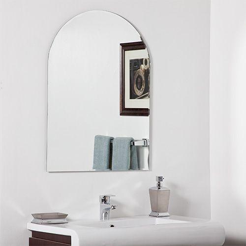 Bathroom Mirror No Frame best 25+ traditional frameless mirrors ideas on pinterest