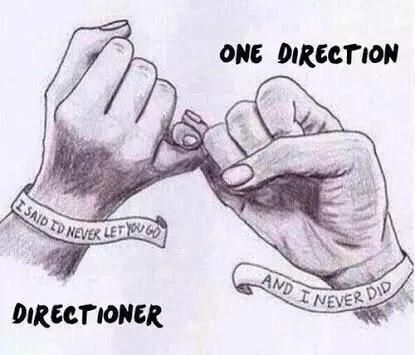"""Always in my heart One Direction. Yours sincerely, Directioners."" #WeCameBackWithAllDirectioners"