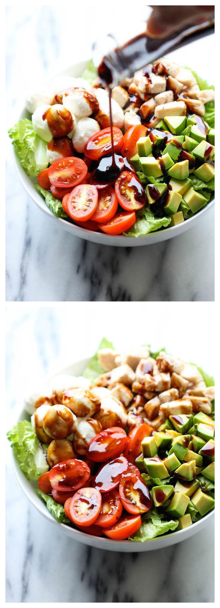 #Recipe: Caprese Avocado #Salad