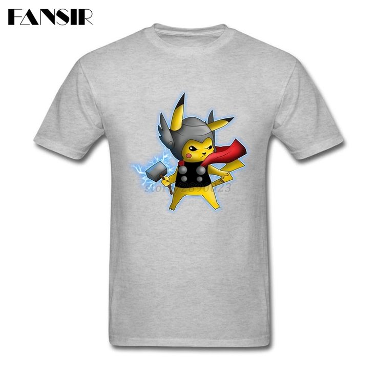 >> Click to Buy << Awesome God Of Thunder Pokemon Go Cartoon T-shirt Mens Custom Cotton Short Sleeve Men T-shirt Camisetas Big Size #Affiliate
