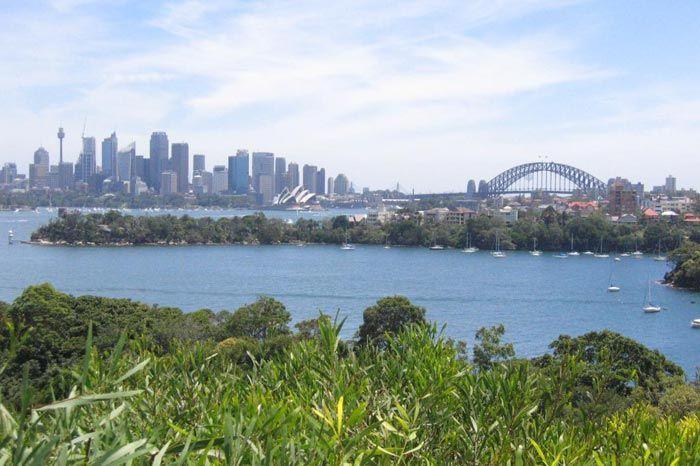 Avustralya'daki Taronga Hayvanat Bahçesi'nden Sidney Limanı