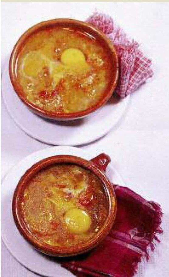 Sopa Castellana  receta