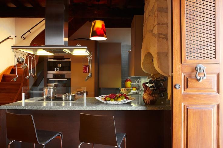 Villa Euphoria Rethymno Crete  Kitchen  http://www.villa-crete.gr/