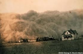 the dust bowl was from a lack of any soil conservation.