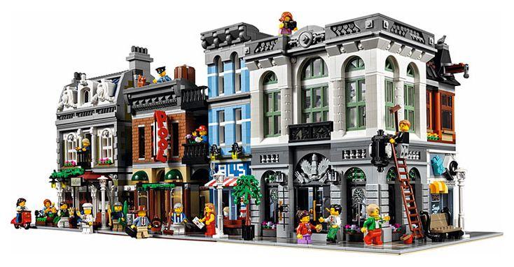 Lego 10251 Brick Bank : La nouvelle maison modulaire LEGO Creator Expert