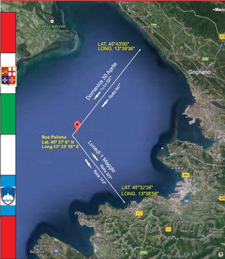 """Partecipa con noi alla regata Grignano –  Isola – Grignano a bordo del nostro cruiser racer """"King Arawak"""" 58′  il 30 aprile e 1 maggio #1maggio #1maggio2017"""