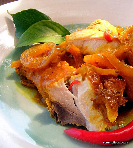 Scrumptious South Africa: Extra-Lemony Cape-Malay-Style Pickled Fish. Best served cold with seeded bread