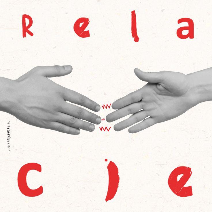 #typography #illustration #strekowska #relacje #ilustracja #typografia
