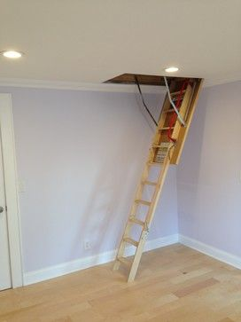 Fakro Insulated Attic Ladder   Spaces   New York   Andru Construction LLC