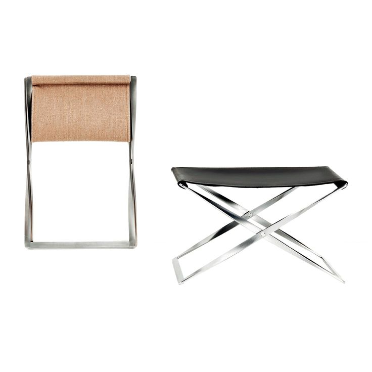 furniture poul kjaerholm pk54. the folding stool designed by poul kjrholm epitomizes his ongoing adaption of historical furniture categories into oeuvre and arsenal expressions kjaerholm pk54