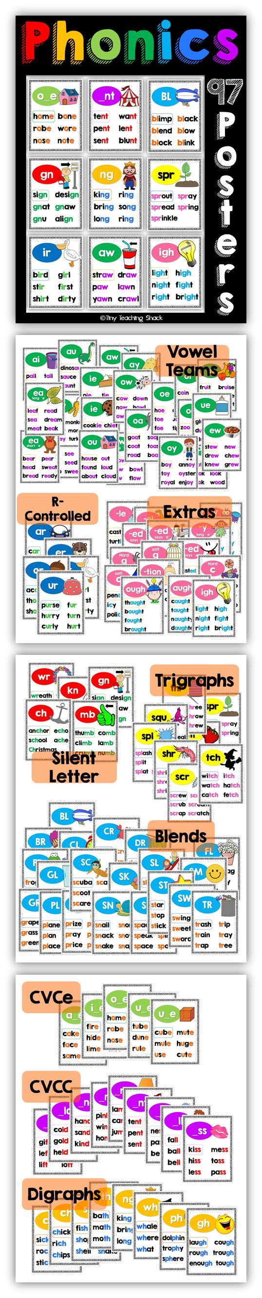 phonics posters                                                                                                                                                                                 More