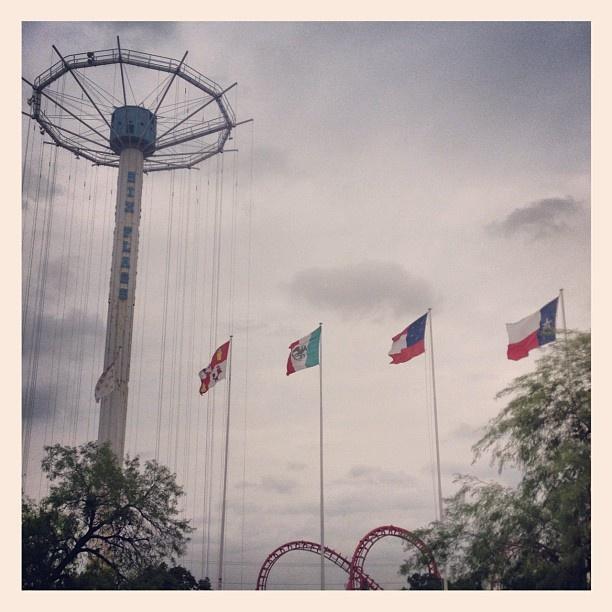 Tryjohnny Six Flags Six Flags Six Flags Over Texas Flag