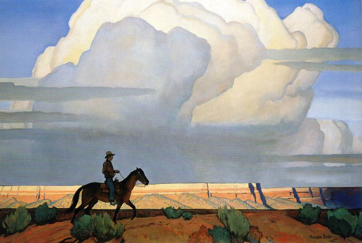 Cult Western | thirtymilesout: The Americans Maynard Dixon...