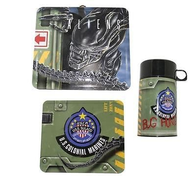 Boys Lunch Boxes - Diamond Select Toys Aliens Lunch Box with Thermos