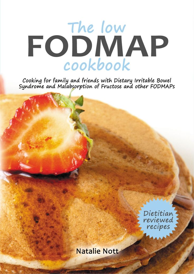 The low FODMAP cookbook front cover