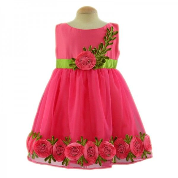 Floral Bloom Frock for babies, kids and girls SF-106