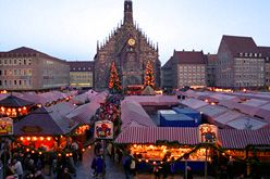Chriskindlesmarkt Nuremburg Germany