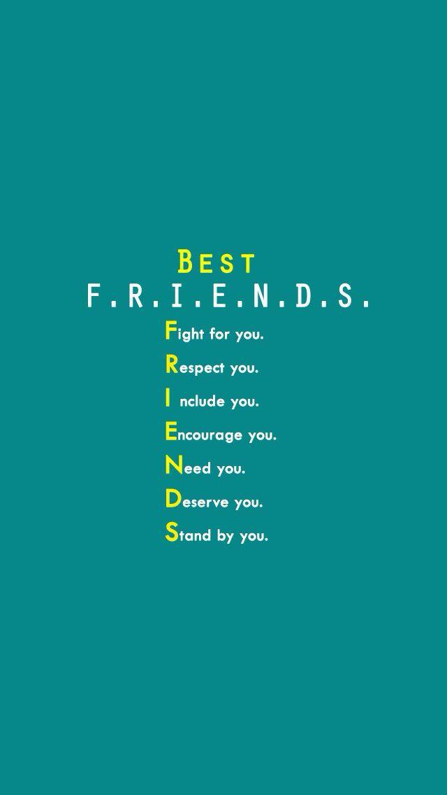 Acrostic poem of friendship