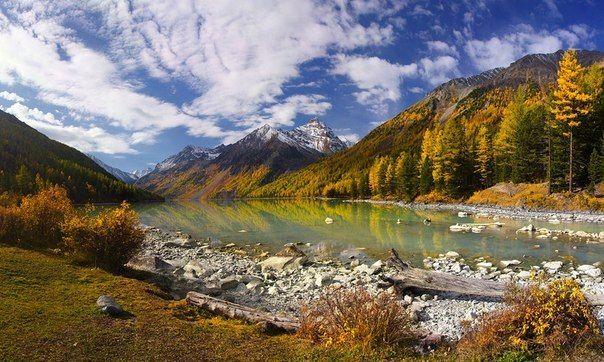 Кучерлинское озеро — озеро в Алтайских горах. Расположено у подножия северного склона Катунского хребта в верховьях реки Кучерла.