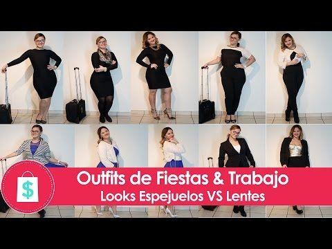 Outfits de Fiestas, Trabajo - Looks Espejuelos VS Lentes de Contacto ACUVUE define - La Shoppinista - YouTube