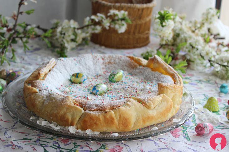 Torta+guscio+d'uovo+di+Pasqua