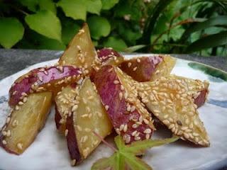Daigaku Imo: patate douce frite et sucrée à la japonaise