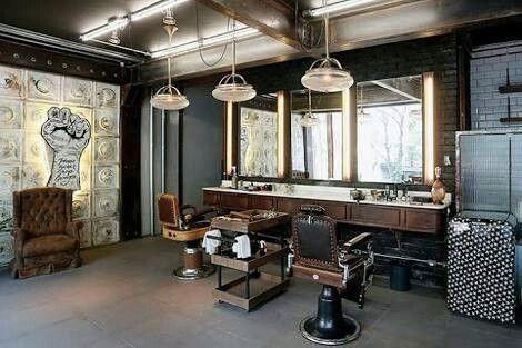 Design Shop, Design Café, Salon Design, Shop Interior Design, Interior Decorating, Design Ideas, Decorating Ideas, Barber Shop Interior, Barber Shop Decor
