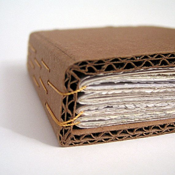 cardboard bound book by robyn on robayre #bookbinding