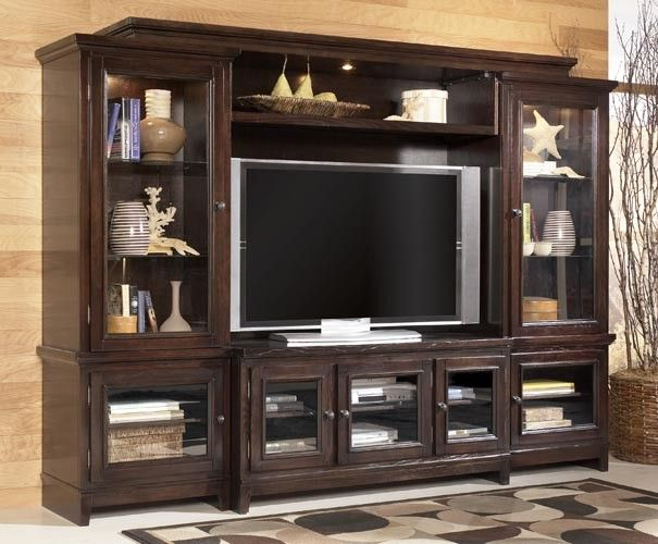 Ashley Martini Suite Entertainment Console | TV Consoles | Raleigh Furniture  | Home Comfort Furniture