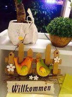 Envío gratis, ancho 23 cm, alto 35 cm, vendimia de moda los amantes de registro de decoración del hogar de piedras muones decoración de la pared, artículos de jardinería