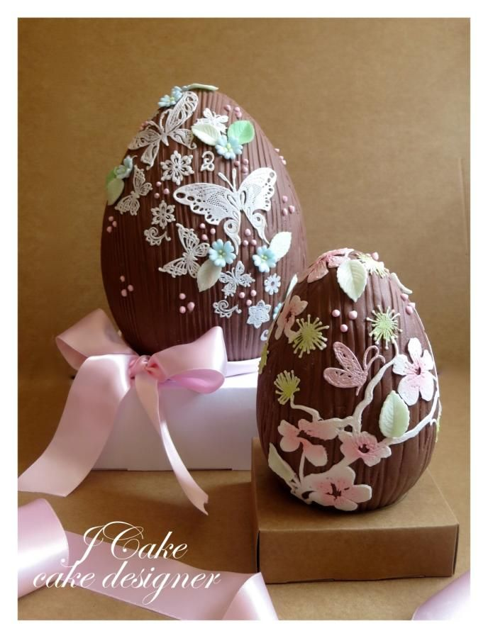 Romantic Easter egg - Cake by JCake
